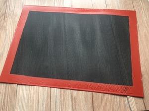 晶工7450 黑色網格矽膠墊