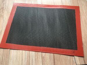 日立水波爐 黑色網格矽膠墊