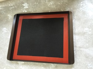 國際牌3800洞洞烤盤+黑色矽膠墊組合